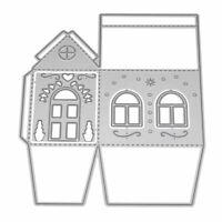 3D House Metal Cutting Dies Stencil DIY Scrapbooking Paper Card Craft Embossing