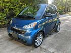 2009 Smart Fortwo PASSION 2009 Smart Fortwo Convertible Blue RWD Automatic PASSION