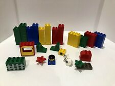 RC ferrocarril Train 4512 accesorios boxeo barriles cargo Lego 9v
