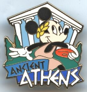 Adventures By Disney - Greece Itinerary - Ancient Athens - Mickey Mouse Pin