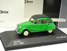 WhiteBox 1/43 - Citroen 2CV 1986 Verte