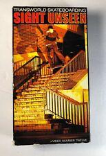 Transworld Skateboarding Sight Unseen Video 12 Vhs