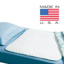 5 NEW BED PADS REUSABLE UNDERPADS 34x36 HOSPITAL MEDICAL INCONTINENCE WASHABLE
