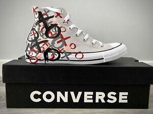 Converse Hi Tops CTAS Mouse/Enamel Red/White