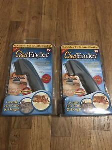 2x ShedEnder Shed Ender Pet Dog Cat DeShedding Tool Brush Comb - FREE FAST SHIP!