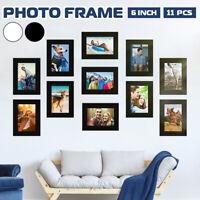 11 Pcs DIY Multi Photo Frame Set Hanging Picture Modern Display Wall Art Home