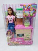 Barbie You Can Be Anything Noodle Maker Playset with Dough Brown Hair & Eyes NEW