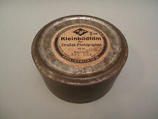 Antique German WWII Agfa Berlin Photo Film Reel Tin Box - 1942