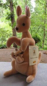 Steiff Kanga and Roo  Classic Winnie the Pooh Collection 2002
