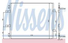 NISSENS Condensador, aire acondicionado OPEL RENAULT TRAFIC NISSAN 940201