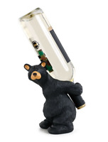 Bearfoots Julio Wine Bottle Holder Barware Big Sky Carvers #3005080214