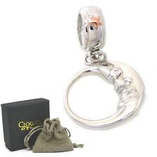 Clogau Silver Rose Welsh Gold Lapis Lazuli Milestones Bead Charm