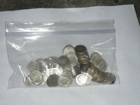 90% Silver Roosevelt Dimes $5 Face Value 1 Roll 50 Coins Fifty