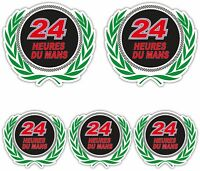 24 Heures Du Mans Sticker set motorsport lemans race classic le mans decals