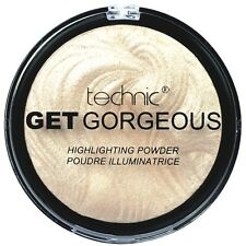 3x Technic Get Gorgeous Superfine Highlighting Compact Highlighter Puder 12g(35)