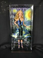 2010 Barbie Doll Vincent van Gogh Starry Night The Museum Collection Pink Label