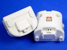 SET: 2 Original Nintendo Wii Motion PLUS Adapter in weiß / white #oH55012