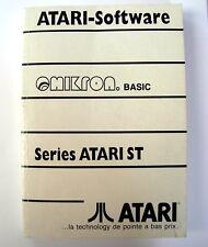 Livre Manuel d'utilisation OMIKRON BASIC ATARI ST STE Book User manual (French)