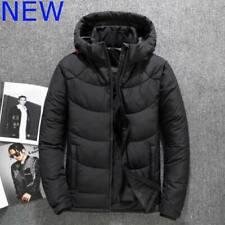 Hooded Warm Jacket Thicken Overcoat Outwear Parka Coat Men's Cotton Winter