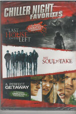 LAST HOUSE ON THE LEFT/MY SOUL TO TAKE/PERFECT GETAWAY (DVD, 2012, 3-Disc ) NEW