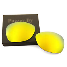 24K Gold Mirrored Replacement Lenses for-Oakley Crosshair 2012 Polarized