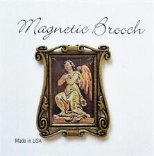 Magnetic Brooch Clip Clasp Pin Angel Vintage Design Accessory Scarves Shawls
