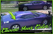 Fits 2008 2014 Challenger Sxt Rt Srt8 Aar Style Strobe Racing Stripes 6