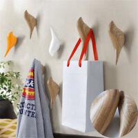3/10pcs Bird Wall Mounted Hooks Clothe Towel Coat Hat Hanger Rack Home Decor New