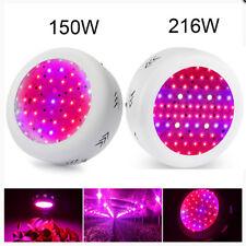150W/216W LED Full Spectrum Grow Light  UFO UV Lamp for Hydro Plant Veg Flower