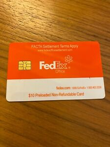 FedEx Office Value Card 10