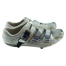 Shimano SH-R300 Road Cycling Bike Silver Gray Custom Fit Shoes Size 47