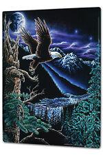 Tin Sign XXL metal plaque Fantasy Gothic Bald Eagle