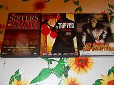 3 SLASHER House by the Cemetery FULCI Tripper SISTERS OF DEATH Claudia Jennings