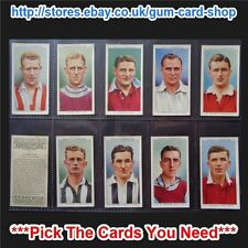 WILLS - ASSOCIATION FOOTBALLERS 1939 (NO FRAME) (G) *PLEASE SELECT CARD*
