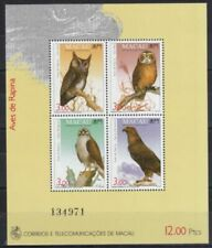 Postfrische Briefmarken mit Vögel-Motiven Raubvögel
