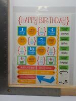 SRM SAY IT WITH STICKERS GRANDMOTHER LOVING KIND GIVING STICKERS NEW A10591