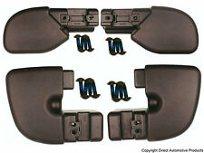 Set of 4 Bumper End Caps Front & Rear Left & Right Fits 1997-2006 Jeep Wrangler