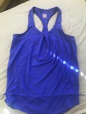 32 Degrees Cool Women's Blue Athletic Tank Top Size S Workout Yoga Running