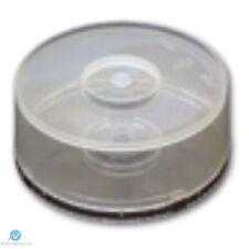 10 Cd Dvd Plásticas Pastel Tina posee 25 Discos Eje Caja de almacenamiento vacío Nueva Funda