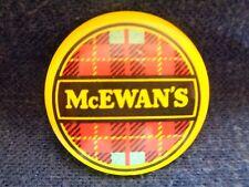 Vintage McEwan'S Pin Back Button Beer Scottish Ale Imported Badge