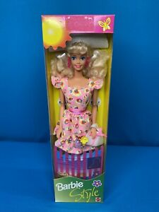 1994 Barbie Style Cottage FOREIGN ISSUE Canadian  12292 Superstar Face NRFB