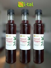 Sorrel Natural Concentrate Juice 250ml (Pack of 6)
