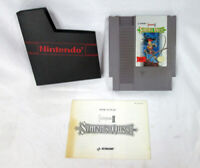 RARE Castlevania II Simon's Quest Nintendo NES Video Game w/ Manual