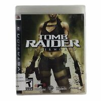 Tomb Raider: Underworld (Sony PlayStation 3, 2008) Complete w/Manual CIB