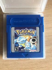 Pokemon Gameboy Color Blaue Edition Engl.