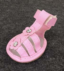 Smoochie Pooch PINK Dog Shoes Sandals Pet  Paw Large stops heat to paw FashionAC