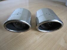 set of 2 OEM 2006 - 2015 LEXUS IS250 IS350 CHROME exhaust tips P/N 17408-31100