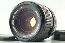 """""""NEAR MINT Concave Front Element"""" Canon FD 35mm f/2 SSC s.s.c. MF Lens JAPAN"""