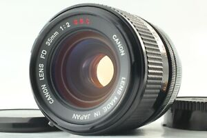 """""""NEAR MINT"""" Canon FD 35mm f/2 SSC s.s.c. Wide Angle MF Lens From JAPAN #1360"""
