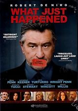 USED DVD - WHAT JUST HAPPENED ? - ROBERT DeNIRO , BRUCE WILLIS, SEAN PENN,